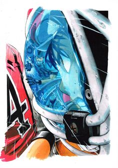 Rockman, Mega Man, Yusuke Murata 2560x1440 Wallpaper