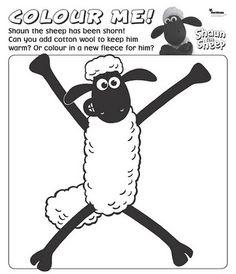 Shaun the Sheep Coloring page