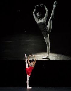 Igone de Jongh en Hans van Manen Live Photo Angela Sterling