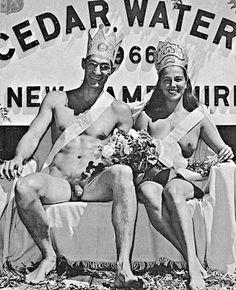 Nudists vintage color nudist