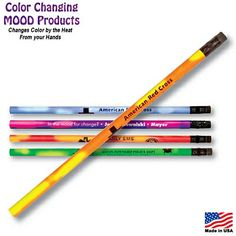 Customized Pens: Mood Pencil Color Changing Pencil - incentive