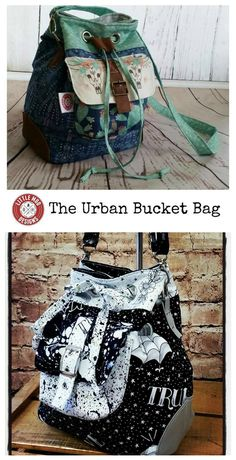 The Urban Bucket Bag sewing pattern is here to download. The Urban Bucket Bag is an easy style of bag to carry for a day out at the markets, a trip to the beach or shopping with friends.