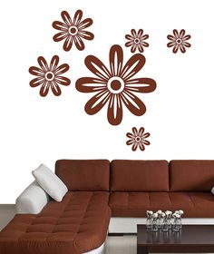 wall sticker, flower sticker,...