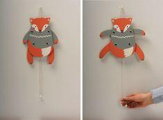 "ZIP ZAP Hampeltier 'Fuchs' von zenzi-design // ""jumping jack"" fox by zenzi-design via dawanda.com"