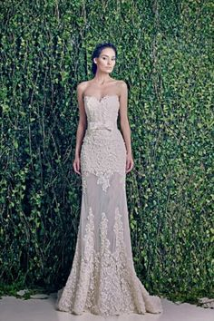 WEDDING DRESSES: ZUHAIR MURAD BRIDAL FALL 2014 @Anna Totten Lynch Blooms I REALLY LIKE THIS ONE!