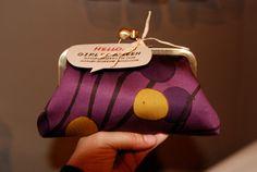 Marimekko Purple Eggplant Clutch by girlbyAileen on Etsy, $37.00