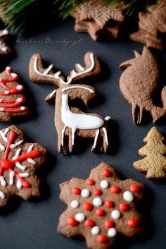 Miękkie Pierniczki bez dojrzewania Gingerbread Cookies, Food, Gingerbread Cupcakes, Essen, Meals, Yemek, Eten