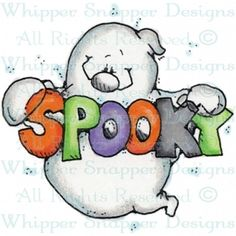 Whipper Snapper Designs is an expansive online store selling a large variety of unique rubber stamp designs. Casa Halloween, Halloween Doodle, Halloween Rocks, Halloween Painting, Halloween Drawings, Halloween Clipart, Halloween Pictures, Halloween Ghosts, Holidays Halloween