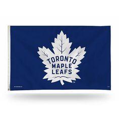 Toronto Maple Leafs Blue Banner Flag, Multicolor