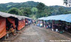 PHOTO: Refugee camp in Kachin State, #Birma / #Burma / #Myanmar 2011. #Kachin