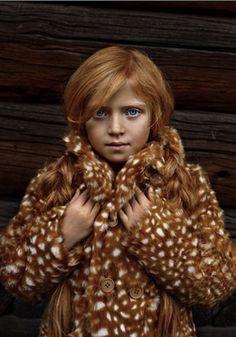 karolina henke photog - deer coat