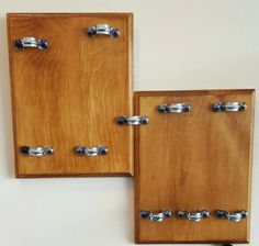 Wall Sunglass Display/Holder holds 10 pairs  by CleverCrittle