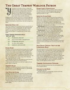 D&D Homebrewing — lovingly crafted for my campaign's setting, now. Dungeons And Dragons Homebrew, D&d Dungeons And Dragons, Mjoll The Lioness, Dnd Sorcerer, Warlock Dnd, Dnd Races, Dnd Classes, Create Your Own Adventure, Home Brewing Equipment
