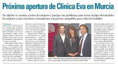 El diario Salud 21 publica un reportaje con motivo de la próxima apertura de Clínicas EVA Murcia.
