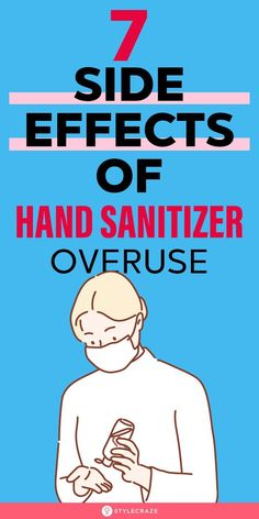 7 Side Effects Of Hand Sanitizer Overuse: While it is essential to stay safe during this time and ensure you take all the precautions necessary, it is also important to not overuse products like hand sanitizer. #sideeffects #sanitizer #health #healthcare