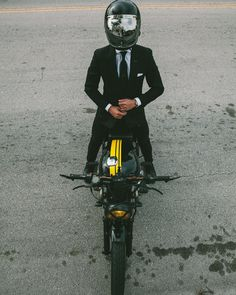 How To Ride A Bike In A Suit. #mens #fashion #style