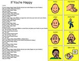 Song Board - If you're happy and you know it (Emotions)