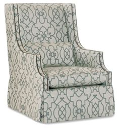 Bernhardt   Darbin Chair (B1922)  Like the fabric