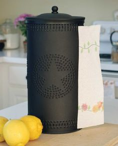 Punched Paper Towel Holder- Star