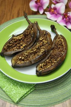 Grug's Barbecued Stuffed Bananas-A Recipe Inspired by The Croods - ThePaleo Mom
