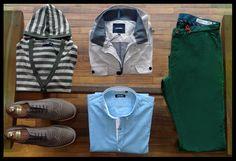 @EstiloSaul Look of the weekend- Chinos: Ben Sherman - Jacket: Antony Morato - Shirt: Antony Morato - Cardigan: Antony Morato - Shoes: Evolution