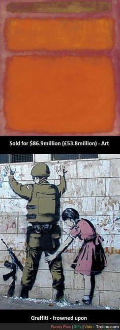 Modern art needs skill