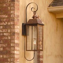 I want gas lanterns on my next home lanterns love them legendary lighting vulcan ii wall mount gas lantern for natural gas mozeypictures Gallery