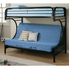 Brayden Twin Over Full Futon Bunk Bed Home 3 Pinterest And Twins