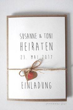 Hochzeitseinladung Selber Machen DIY Hochzeitseinladung FrkenSu 2 Web
