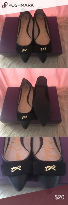 Sam Edelman Flats Sam Edelman Black Flats Sam Edelman Shoes Flats & Loafers