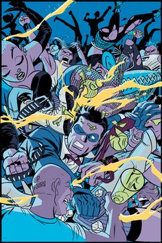 The Spirit #6 cover by Darwyn Cooke
