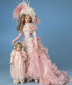 History Porcelain Doll lovely dolls, just not my era, looking for the 1920s but love all dolls!!