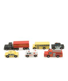 Loving this New York Car Set on #zulily! #zulilyfinds