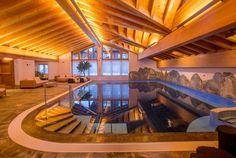 Best Ski Hotel Switzerland - Spa at Grand Hotel Riffelalp, Zermatt Top Ski, Most Luxurious Hotels, Best Skis, Ski Vacation, Five Star Hotel, Zermatt, Grand Hotel, Indoor, Mansions