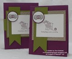 Hand Knit Card Set by snoetzel - Cards and Paper Crafts at Splitcoaststampers Knitting Terms, Hand Knitting, Handmade Greetings, Greeting Cards Handmade, Homemade Cards, Homemade Gifts, Card Making Inspiration, Knitting Accessories, Baby Cards