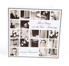 97. Horizon Styling - Grafisch Ontwerpen - Jubileum kaart - 25 jaar getrouwd - Foto