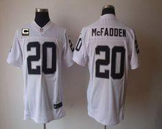 Nike Raiders #20 Darren McFadden White With C Patch Men's Embroidered NFL Elite Jersey!$25.00USD Darren Mcfadden, Jerseys Nfl, Jersey Nike, Nike Nfl, Nike Football, Nfl Oakland Raiders, White P, Arizona Cardinals, Cheap Nike