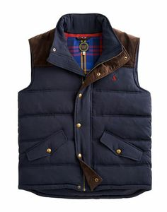 Joules null Mens Gilet, Marine Navy.                     We're once again pleased to be welcoming back the Burbank. Made to withstand anything that will come its way, this is quite simply the only gilet you'll ever have to buy. A true Joules classic.
