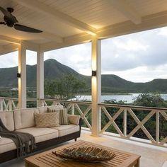 Home — Herlong & Associates Architecture + Interiors Deck Design, House Design, Caribbean Homes, Caribbean Decor, Balustrades, Balkon Design, Residential Architect, House With Porch, Building A Deck