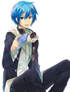 Image result for Kaito Vocaloid Wallpaper Akaito Shion's