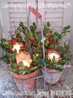 ChiPPy! - SHaBBy!: HoLiDay Adornments to **WOW** Your Guests...