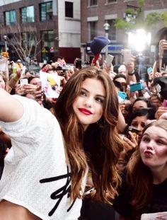 Selena Com Os Fans