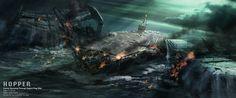 #Battleshipe: Hopper