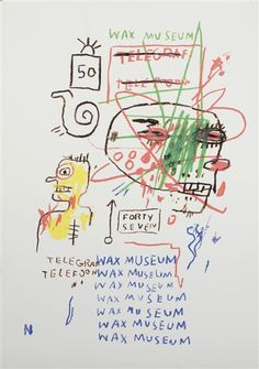 UNTITLED By Jean Michel Basquiat 1981JEAN MICHEL BASQUIAT More Pins Like This At FOSTERGINGER @ Pinterest