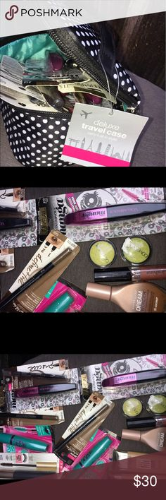 Maybe line makeup and foundation Makeup bundle Maybelline Makeup Mascara