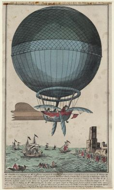 """The following is an article from Uncle John's Endlessly Engrossing Bathroom Reader. From our """"Dustbin of History"""" files, here's the harrowing tale of a little-known milestone in aviation history.LOADEDIt was January 7, 1785, and two men were preparing for the first ever balloon crossing of the English Channel. The one who financed the adventure was John Jeffries, a well-to-do American doctor. The one with the aviation skills was Frenchman Jean-Pierre Blanchar..."""