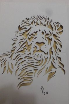 Animal Stencil, Stencil Painting, Wood Carving Patterns, Lion Art, Wood Burning Art, Welding Art, Scroll Saw Patterns, Silhouette Art, Stencil Designs