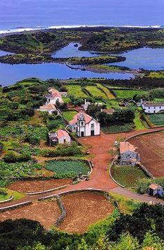 Ilha de S. Jorge. Açores, Portugal