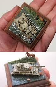 Resultado de imagem para 1-144 scale tank dioramas