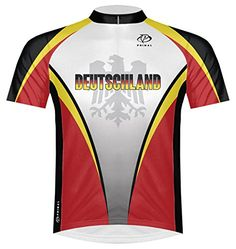 8554d0c63 Primal Wear Deutschland Germany Cycling Jersey Mens Short Sleeve -- Details  can be found by clicking on the image. (Note Amazon affiliate link)   ...